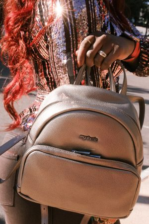 Myabetic: Metallic Backpack